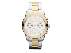 Michael Kors Quartz White Dial Women's Watch - MK5748