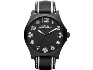Marc by Marc Jacobs Leather Black Dial Quartz Women's Watch -  MBM1233