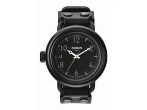 Nixon The October Quartz Black Dial Mens Watch #A488-1530