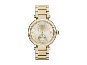 Michael Kors Skylar Champagne Dial Gold-tone Ladies Watch MK5867