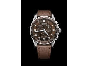 Victorinox Chrono Classic XLS Swiss Quartz ETA G10.211 Analog Brown Dial Men's Watch 241653
