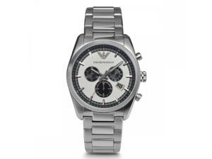 Emporio Armani Analog Silver/Black Dial Men's Watch AR6007