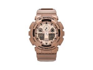 Casio G-Shock Quartz Hybrid Gold Dial Men's Watch GA100GD-9A