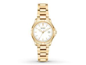Women's Silhouette Sport Gold-Tone Stainless Steel White Dial