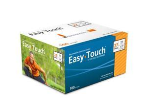 Easy Touch Insulin Syringes 27 Gauge 1cc 1/2 in - 100 ea