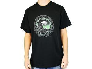 "Quiksilver Men's ""Dead In Water-MT0"" T-Shirt Black QSYT0MW5-BLK-M"