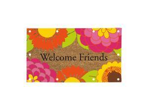 Welcome Friends Everoptics Coir Mat