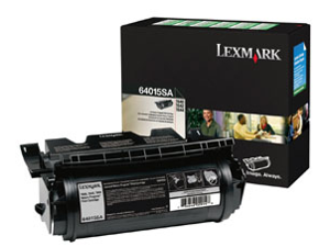 LEX64015SA LEXMARK BR T640/T644, 1-SD RTN PROG BLACK LEXMARK