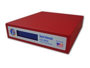 Guest Internet GIS-R10 Internet access gateway 250 concurrent users