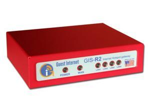 Guest Internet GIS-R2 Hotspot Gateway, 50 users 4-port switch.