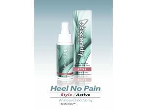 Biochem Heel No Pain Style Foot-Numbing Spray, High Heels and Stilettos Relief (2 oz.)