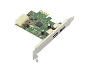 USB 3.0 Controller Card 2 Port PCI Express PCIe SuperSpeed