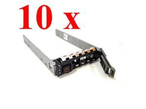 "10 * 2.5"" DELL SAS/SATA Hard Drive Tray Caddy Compatible DELL Part Number G176J for PowerEdge T310 R510 R410 T410 R710 R610 ..."