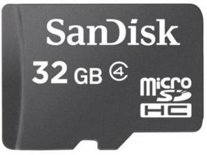 SanDisk 32GB MicroSD HC Flash Memory Card Model SDSDQ-032G BULK PACKAGE - OEM