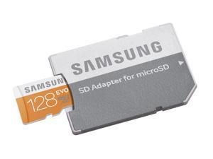 Samsung EVO 128GB MicroSDXC 128G Micro SD SDXC UHS-I 48MB/s microSD Class 10 MB-MP128DA