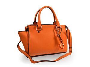 Women's Orange Cossbody Handbag - A161