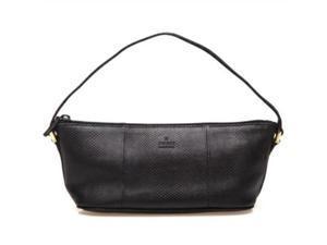 Gucci Miniature GG 250001 Black Lizard leather clutch Handbag