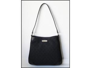 Gucci GG Signature Demi Shoulder bag Handbag - 196140 Black