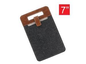 "OBIEN Water Resist Portable 7"" Tablet PC Sleeve, Suitable For Kindle, Samsung (Black)"