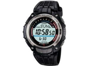 Casio Mens Multi-Function Digital Athlete's Tracking Watch - Black - SGW200-1V