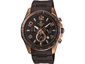 Casio Edifice Brown X Rose Gold Dial Men's Watch - EFR516PG-5AV