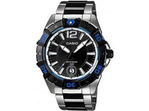 Casio Men's MTD1070D-1A1V Black Resin Quartz Watch with Black Dial