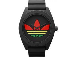 Adidas Santiago XL ADH2789 Men's Black Dial Silicone Analog Watch