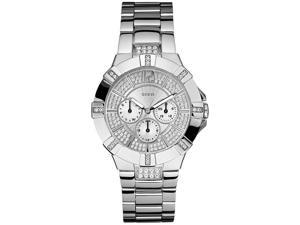 Guess Waterpro/Wristwear Bracelet Crystal Dial Women's Watch #U12601L1
