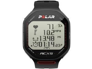 Polar Heart Rate Monitor Running GPS Watch RCX5 BLACK
