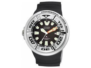 Citizen Eco Drive Professional Diver Mens SS BJ8050-08E