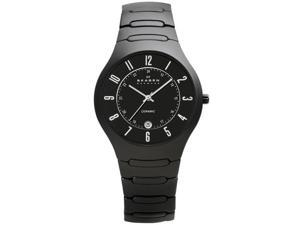 Skagen Ceramic Collection Black Dial Men's Watch #817LBXC