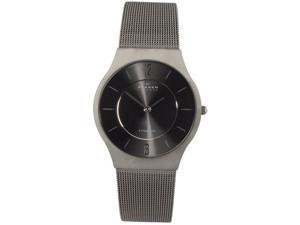 Skagen Slimline Mens Quartz Titanium Watch