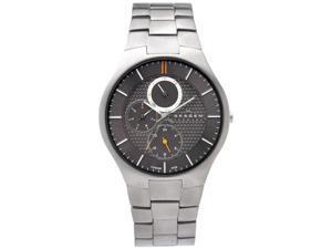 Skagen Titanium Multifunction Gunmetal Dial Men's watch #806XLTXM