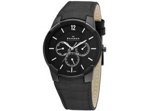 Skagen Steel Collection Black Dial Men's Watch #856XLBLB