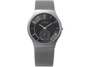 Skagen Titanium Gun Metal Dial Men's Watch #805XLTTM