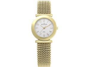 Skagen Steel Mesh White Dial Women's Watch #107SGG1