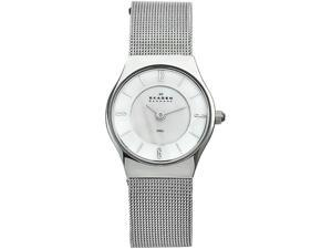 Skagen Stainless Steel Mesh Ladies Watch 233XSSS