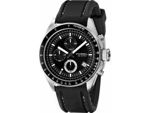 Fossil Dexter CH2573 Men's Black Dial Silicone Chronograph Watch