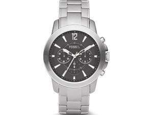 Fossil Men's Chronograph Black Dial Stainless Steel