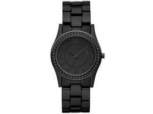 DKNY Quartz Black Aluminium Watch