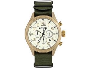 Fossil Vintaged Bronze Chronograph Champagne Dial Men's watch #DE5001