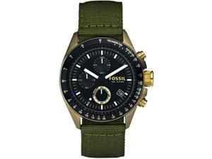 Fossil Vintaged Bronze Decker Black Dial Men's Watch #DE5017