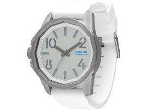 Men's White Freestyle The Step Silicone Strap Watch 101382