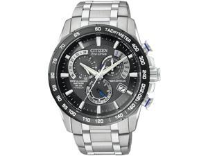Citizen Eco-Drive Titanium   Perpetual Atomic Mens   Watch AT4010-50E