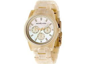Michael Kors Resin Horn Women's Watch - MK5039