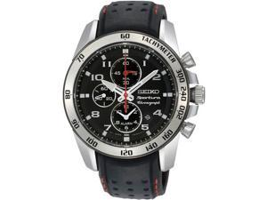 Seiko Sportura Black Dial Men's Watch #SNAE65