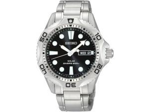 Seiko Divers Black Dial Men's Watch #SNE107