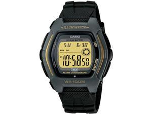 Casio HDD600G-9AV Men's Chronograph Digital Sports Watch w/ Black Resin Band