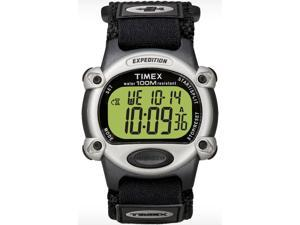 Timex T48061 Expedition Digital Chrono Alarm Timer Fast Wrap Velcro Strap Watch