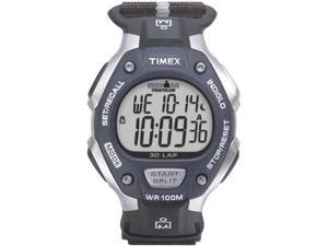 Timex Mens Ironman 30-Lap Velcro Fast Wrap Watch T5H421